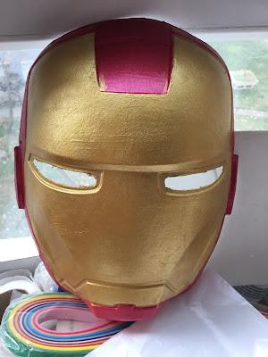 Iron Man Maskesi Yapımı