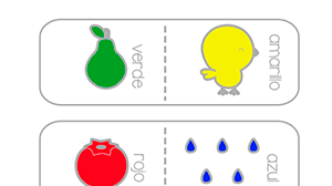 Fichas para aprender los colores para imprimir