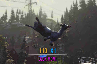 Flying Goat in Goat Simulator
