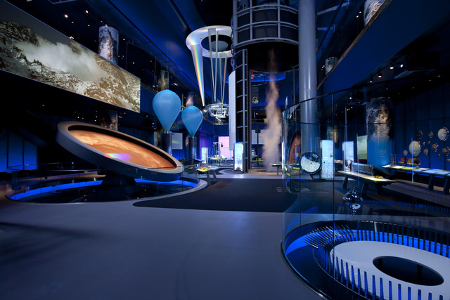 Museum of Science and Industry no outono em Chicago