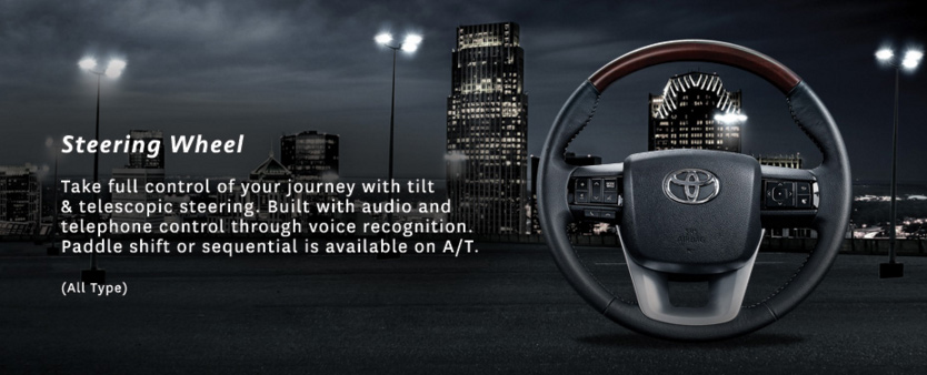 Steering Wheel Fortuner