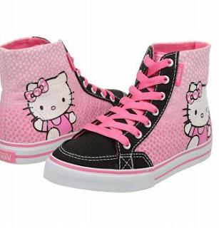 Gambar Sepatu Hello Kitty untuk Anak 9