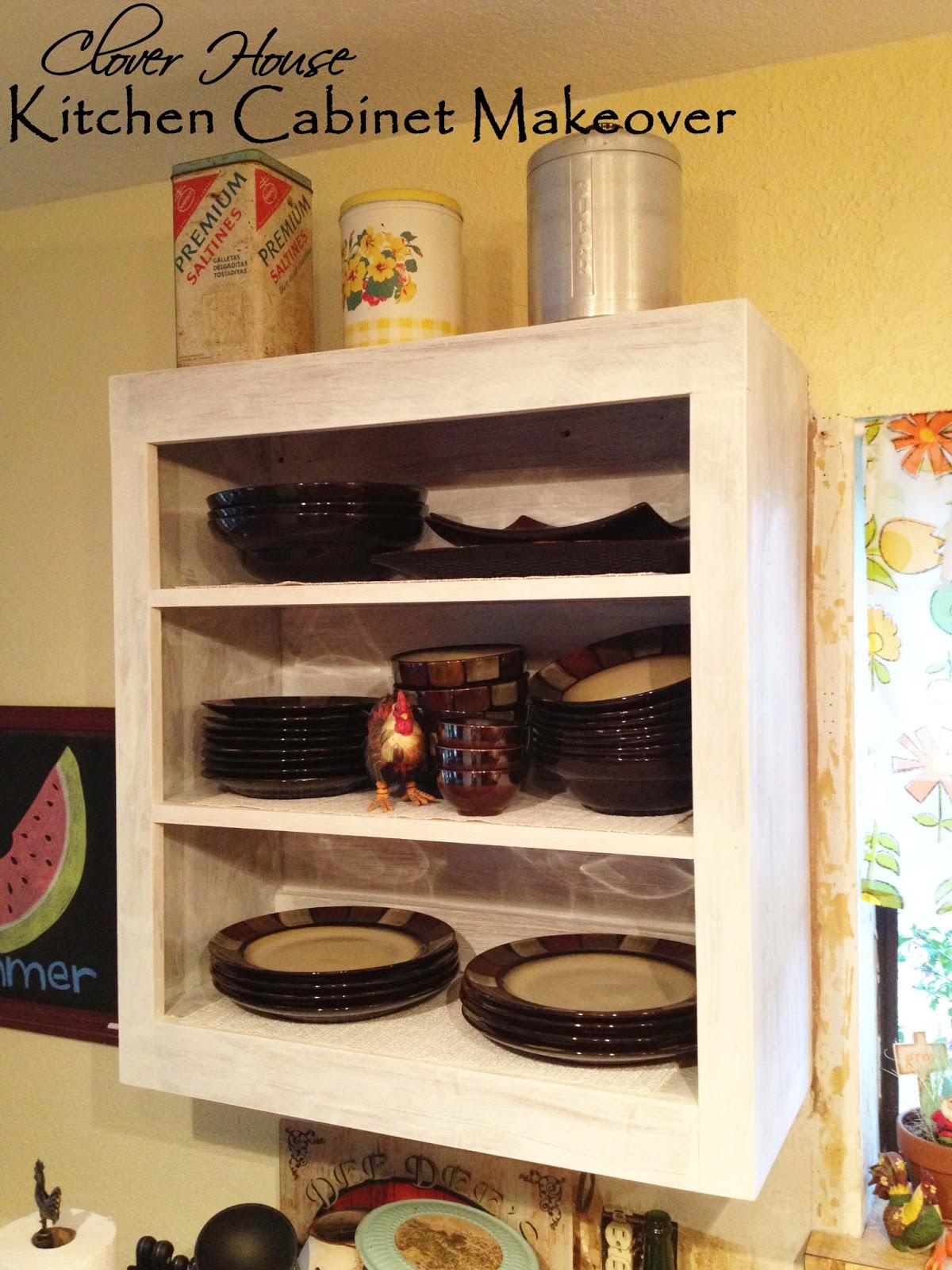Clover House Kitchen Cabinet Makeover