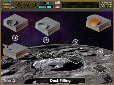 Craters Formation Puzzle