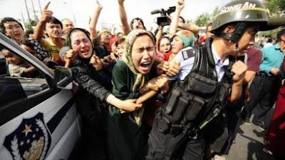 China Ambil Paksa Organ Muslim Uighur