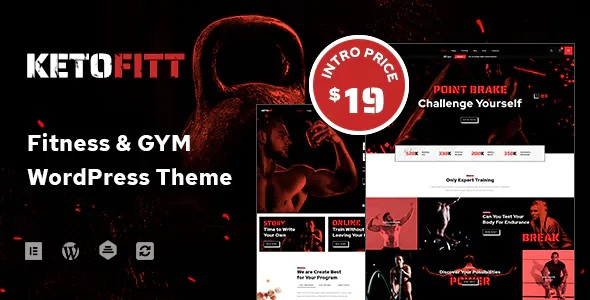 Best Fitness and GYM WordPress Theme