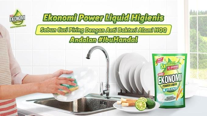 Cuci Piring Lebih Cepat dan Higienis dengan Ekonomi Power Liquid Siwak & Jeruk Limau