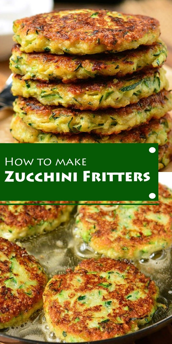 How To Make Zuricchini Fritters