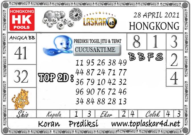 Prediksi Togel HONGKONG LASKAR4D 28 APRIL 2021