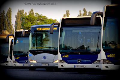 BYD K9 i Mercedesy Citaro G
