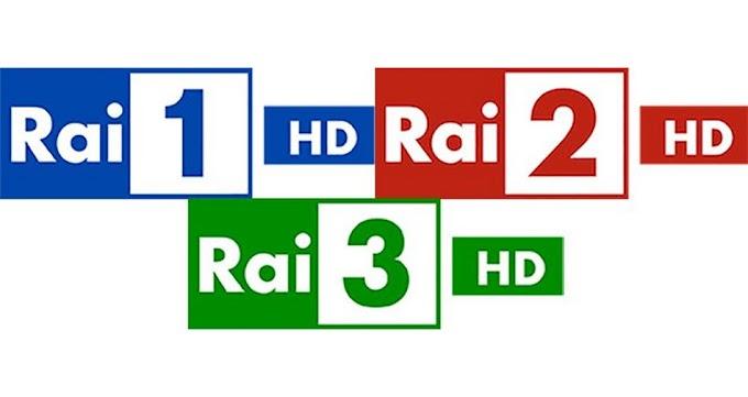 Rai 1 HD / 2HD / 3HD Frequency On Hotbird 13E
