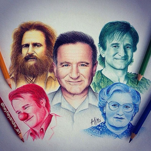 02-Robin-Williams-André-Manguba-Celebrities-Drawn-and-Colored-in-with-Pencils-www-designstack-co