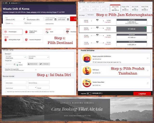 Cara Booking tiket AirAsia