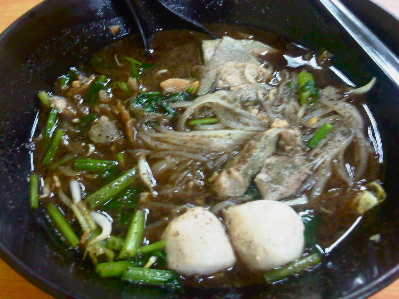 Crystal Noodles Thai Food
