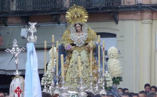 Horario e Itinerario Rosario de la Aurora de María Santísima del Rosario (Sentencia). Málaga 24 de Octubre del 2021