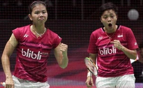 Jadwal Ganda Putri Indonesia Open 2017