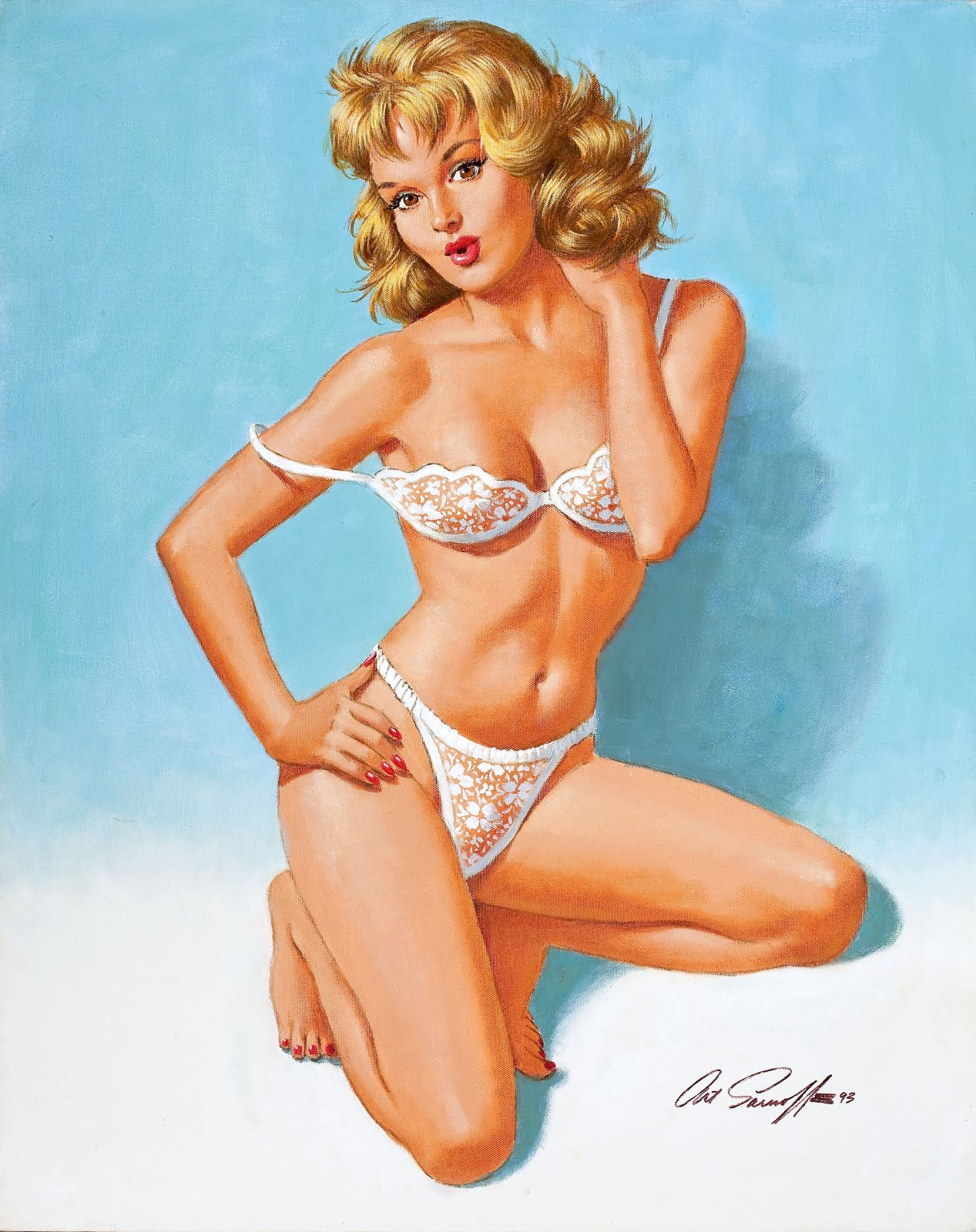 Pin By Berserk Vikings On Makeup Ideas: Classic Pinups: Arthur Sarnoff Pinups