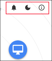 رموز خيارات Snapdrop