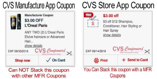 stacking cvs coupons help