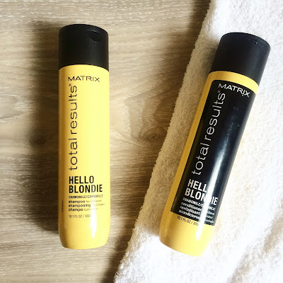 Matrix Hello Blondie Shampoo and Conditioner | Almost Posh