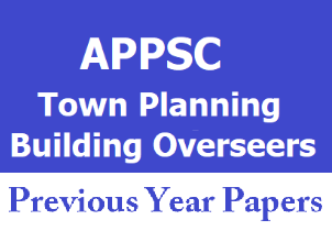 appsc-town-planning-building-overseers-previous-papers