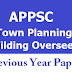 APPSC Town Planning Building Overseers Previous Papers