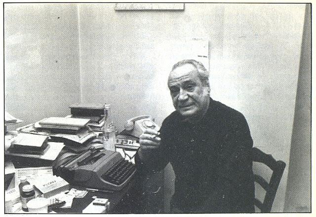 """Ο Ναυπλιώτης ποιητής Νίκος Καρούζος στην εκπομπή """"Μονόγραμμα"""" του 1990 (βίντεο)"""