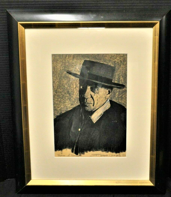"""""""Picasso, El Terrible"""" 1994 by F. Lennox Campello"""