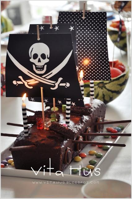 Piraten geburtstagsparty vitahus - Piraten deko basteln ...