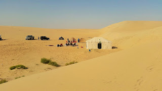 desert camping trip Eastern Province daytime Saudi Arabia blog
