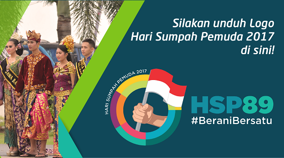 Logo Hari Sumpah Pemuda (HSP) Ke 89 Tahun 2017