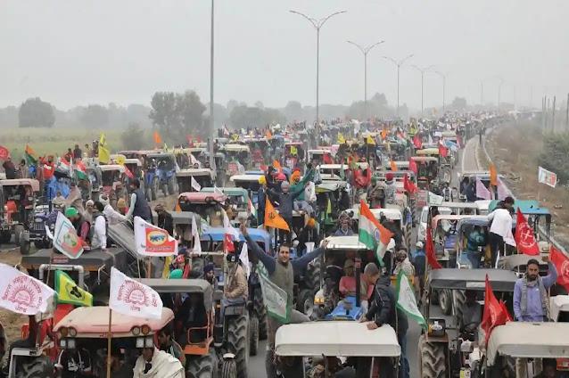 गणतंत्र दिवस पर किसानों का ट्रैक्टर मार्च, जानिए कहां-कहां बंद रहेगा ट्रैफिक