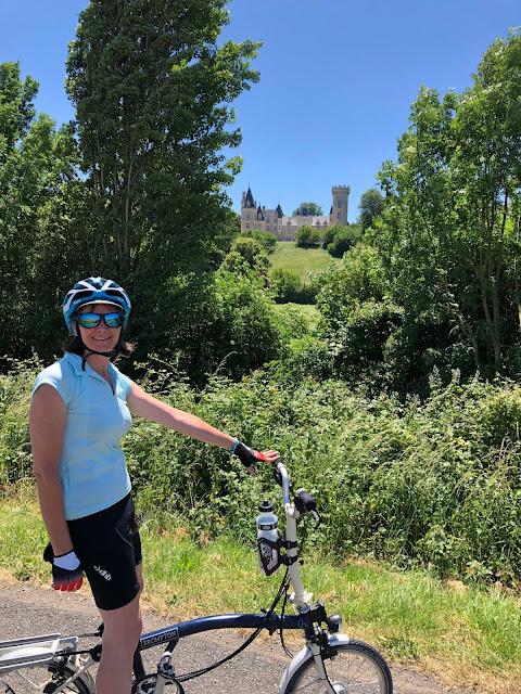 French Village Diaries hello June, hello normal cycling Charente Chateau des Chevaliers de Londigny