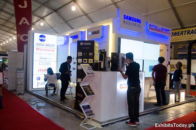 Intellismart exhibition booth