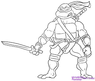 ninja turtle coloring pages   coloring pages for kids