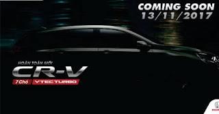 Giá chính thức Honda CRV 7 chỗ
