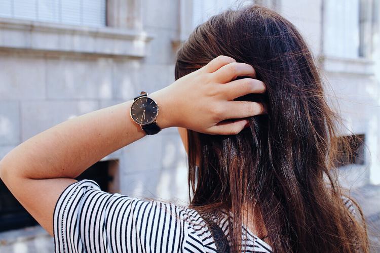 outfit con reloj de daniel wellington blog de moda