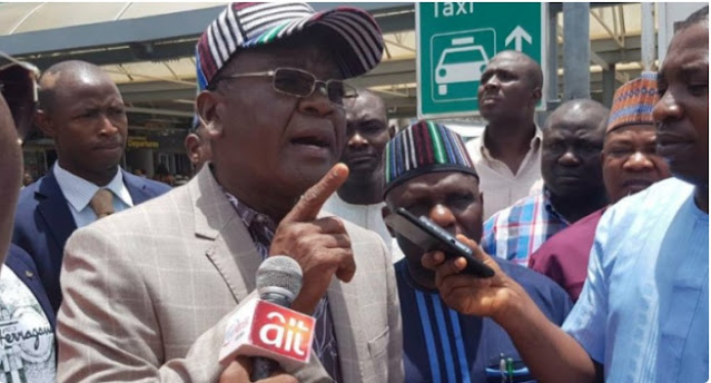 Ortom to FG: Listen to Nigerians on restructuring — we're not in military regime