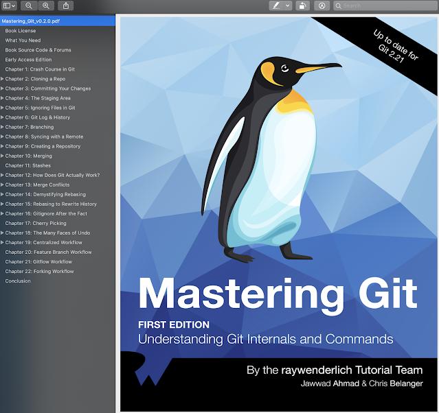 Mastering Git Ray Wenderlich Books