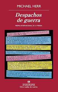 Libro Despachos de guerra, de Michael Herr - Cine de Escritor