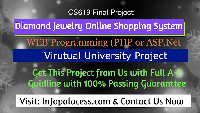 Diamond jewelry Online Shopping System Project CS619 FYP