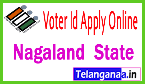 CEO Nagaland New Voter ID Card Online Registration