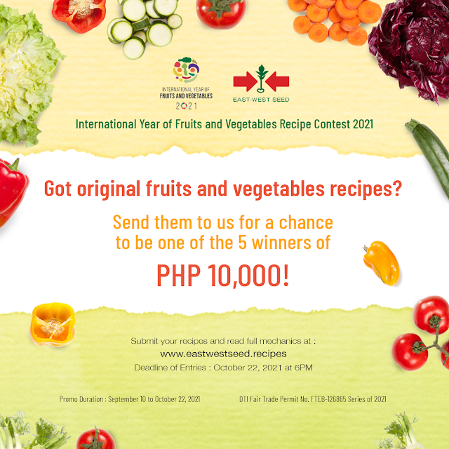 East-West Seed's International Year of Fruits and Vegetable Recipe Contest 2021