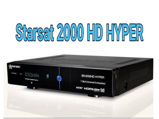 اخر تحديث جهاز Starsat 2000HD HYPER اصدار 2.62 متجدد دائما