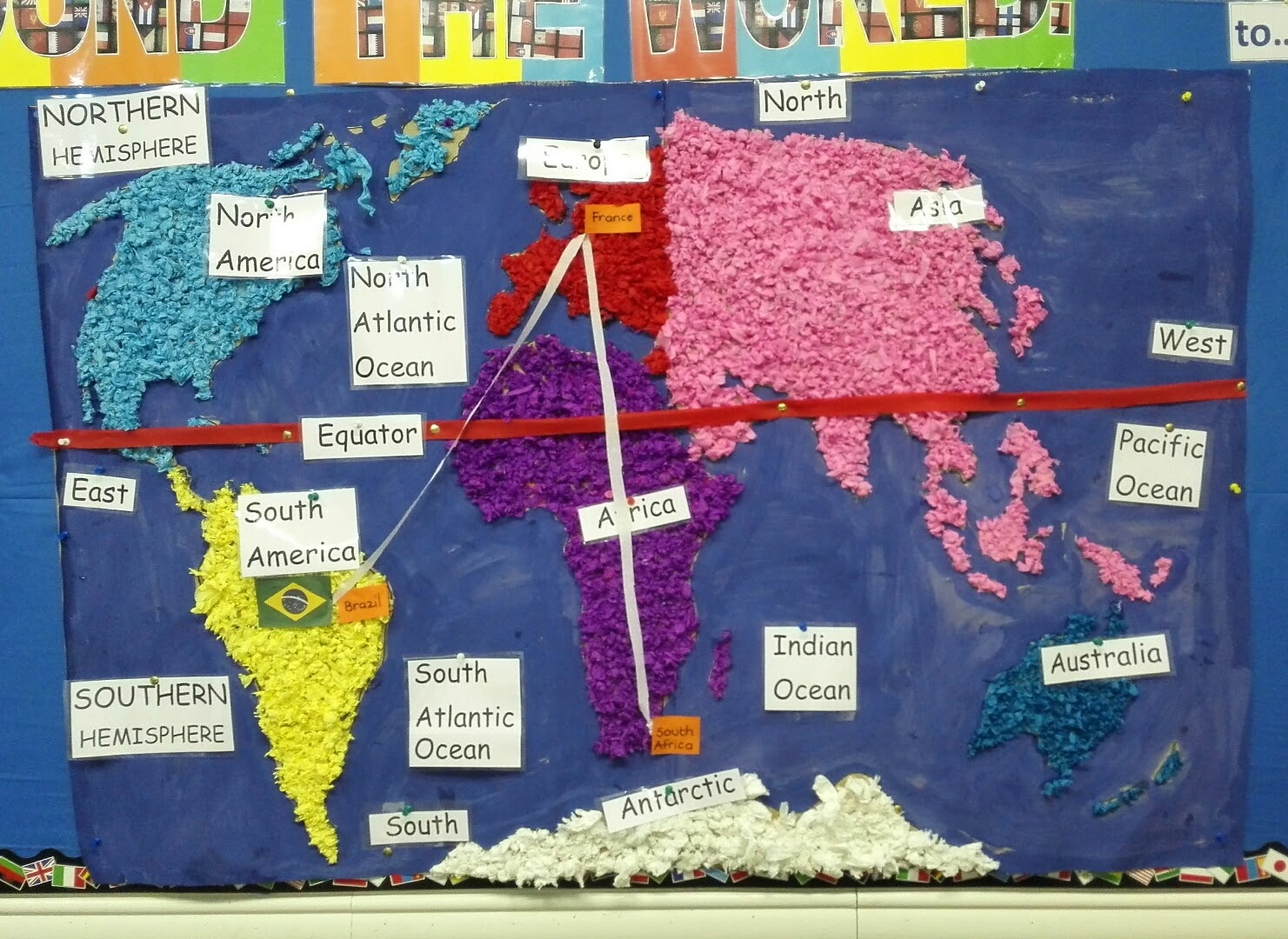 Mrs Whilliers Wonder Kids World Map