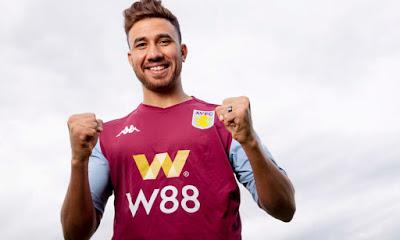 W88 Resmi Jadi Sponsor Resmi Aston Villa