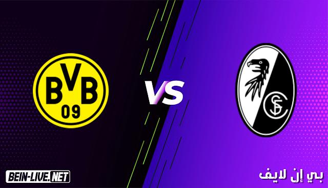 مشاهدة مباراة فرايبورج و بروسيا دورتموند بث مباشر اليوم بتاريخ 06-02-2021 في الدوري الالماني