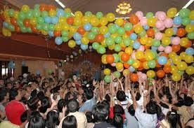 Balon indonesia berkantor dikelapa gading bisa melayani untuk pemesanan balon drop