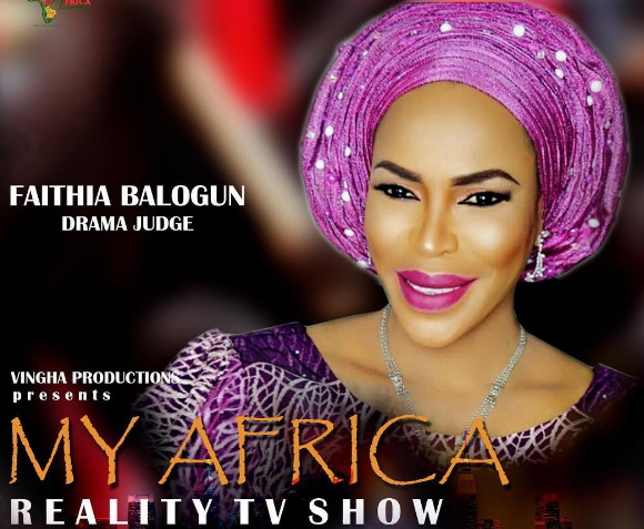 faithia balogun judge reality tv show
