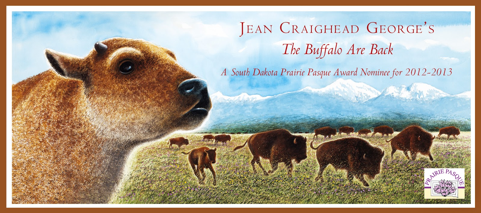 6e68a50ee4c The Buffalo Are Back Jean Craighead George and Wendall Minor
